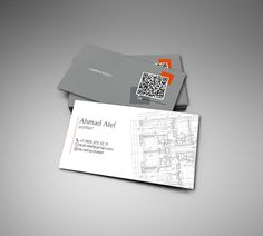 30 business card designs for architects part 2 - Architect Business Card