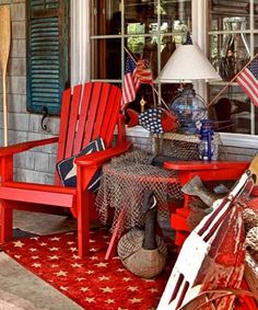 Add some of your personality to your outdoor rooms, like Cynthia and Max Broesamle, did with their cabin on Baw Beese Lake in south central ...