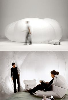 Inflatable Cloud / Monica Förster