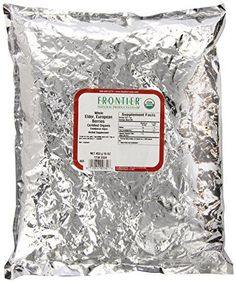 Frontier Elder Berries Whole Organic - 1 lb