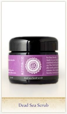Dead Sea Scrub. Our best selling facial scrub to exfoliate your skin. This special blend of dead sea mud, siliceous earth and lavender creates a rich exfoliate to replenish minerals, stimulate circulation and remove dead skin cells which makes it a natural alternative microdermabrasion.   #annmariegianniskincare #annmariegianni #annmarieskincare #honest #wild #beautiful #glutenfree #vegan