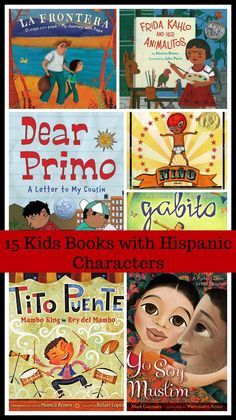15 Kids Books with Hispanic Characters That You'll Love - LadydeeLG Good Books, Books To Read, Children's Book Characters, Hispanic Culture, Hispanic Heritage, Baby Education, Physical Education, Children's Literature, Read Aloud