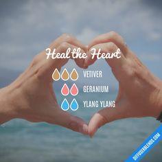 Heal the Heart — Essential Oil Diffuser Blend
