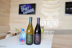 FIJI water on display at the 32nd Annual Film Independent Spirit Awards sponsored by FIJI Water at Santa Monica Pier on February 25, 2017 in Santa Monica, California.