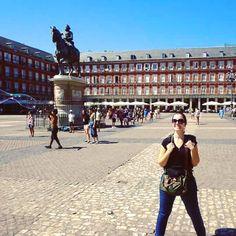 ✈1 dia em Madri! Nosso novo post já está disponível no www.gironapangeia.com.br  Corre lá conferir #gironapangeia #madrid #viagem #europa #mochileiros ** ⓔⓝ A day in Madrid! New post and more on www.gironapangeia.com.br. **