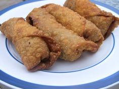Healthy appetizers egg rolls pita chips etc