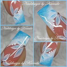 Nail Shapes - My Cool Nail Designs Fingernail Designs, Acrylic Nail Designs, Nail Art Designs, Nails Design, Fancy Nails, Trendy Nails, Les Nails, Nagellack Design, Nagel Gel