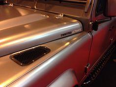 Twisted 110 V8 in satin grey