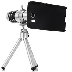 Practical 12x Optical Telescope Mobile Telephoto Lens with Tripod and Back Case for Samsung Galaxy S6 G9200 #shoes, #jewelry, #women, #men, #hats, #watches, #belts
