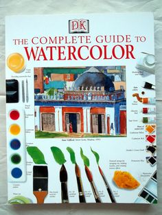 Lost Coast Post: Watercolor Wednesday: Favorite Books