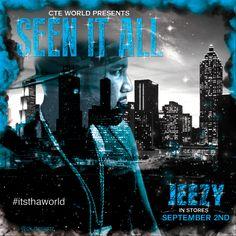 Album cover design I designed to promote the rapper Jeezy's upcoming album.