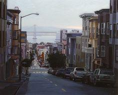 Greg Gandy Fine Art - Rain over the Bay