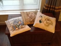 More cushions....