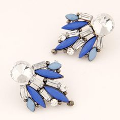 Aretes azules
