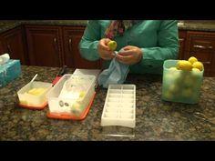 افكار منزلية للمطبخ |كيفية حفظ الخضروات الورقية مدة طويلة |تخزين الكسبرة و البقدونس بالثلاجة - YouTube