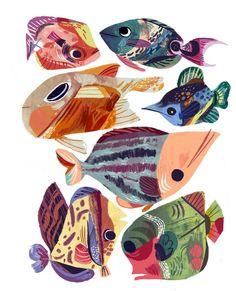 Fish Fantasy 3 by Meg Hunt