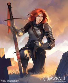 Crowfall - Throne War MMO | Archetyp Templer