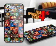 Pixar Movie for iPhone 4 / 4s Black case