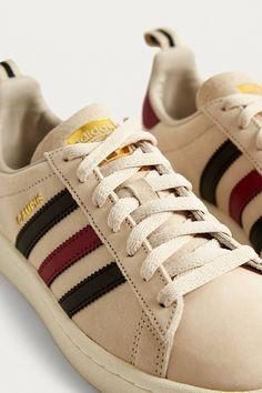 73e8ad51d33 adidas Originals - Baskets Campus à rayures colorées