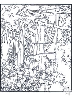 VAN GOGH SUNFLOERS colouring pages   ✐❀Adult Colouring~Flowers ...