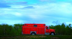 of Ste. on the Trans Canada Highway in Manitoba Trans Canada Highway, Fire Dept, Muscle Cars, Outdoors, Trucks, Travel, Viajes, Truck, Trips