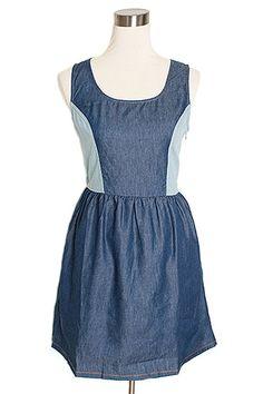 Peek-A-Back Dress #milkandhoneyny #sweetrain