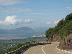 Sardininen: Die Strasse nach Alghero #Kurven #curves