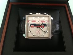 Vintage Limited Edition Tag Heuer Monaco Chronograph Steve McQueen Watch
