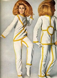 modified space helmet for fashionable ladies..gary spivey fashioned his after her..im certain