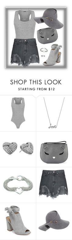 """shades of grey"" by traceyenorton ❤ liked on Polyvore featuring WearAll, Betsey Johnson, Furla, Tiffany & Co., Kristin Cavallari and Eugenia Kim"