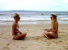 warm weather. ocean. girlfriends.