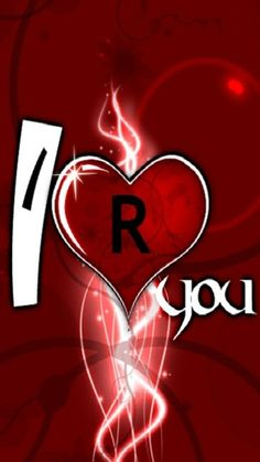 I Love You R Name Wallpaper Hd Djiwallpaperco