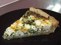 Feta-pinaattipiirakka Feta Cheese Recipes, Sandwich Cake, Savoury Baking, No Bake Cake, Superfood, Quiche, Bakery, Food And Drink, Healthy Recipes