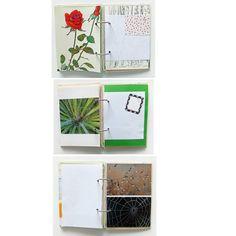 Garden Journal, Gardening Notebook, Garden Smash Book, Mixed Paper Journal. Rescued Paper Notebook. Recycled. Junk Journal, Art Journal by PeonyandThistle on Etsy https://www.etsy.com/listing/209206882/garden-journal-gardening-notebook-garden