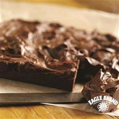 This Foolproof Chocolate Fudge Recipe from Eagle Brand® Sweetened Condensed Milk Sweetened Condensed Milk is a foolproof way to tell someone how much you care this holiday season!