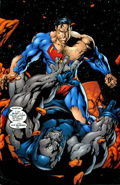 Is Darkseid Stronger Than Superman - Darkseid - Comic Vine Cyborg Dc Comics, Dc Comics Art, Superman Vs Darkseid, Batman Vs Superman, Superman Artwork, Superman Stuff, Superman Man Of Steel, Superman Wonder Woman, Alex Ross