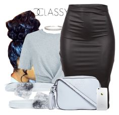 """""""Untitled #676"""" by b-elkstone ❤ liked on Polyvore featuring T By Alexander Wang, Puma and Tory Burch"""