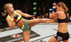 UFC 191: How Far Can VanZant Rise? - Today's Knockout  This coming weekend, Reebok representative and relative newcomer to the sport of MMA, Paige VanZant, will take to the cage at UFC 191 for only the seventh time in her professional career.....