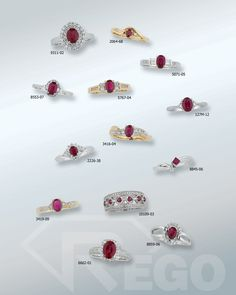 Designs by Rego also makes color stone and birthstone jewelry for any occasion!