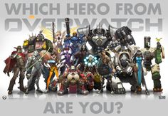 I Got Soldier 76! Which Member Of Overwatch Are You