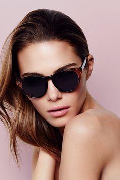 811cac330278 Maripier Morin X BonLook : Nola Sunglasses in Rose Black Motif Leopard,  Leopard Pattern,