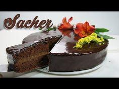 TARTA SACHER VERSIÓN FÁCIL ! - YouTube Quiche, Cooking Recipes, Pudding, Sweet, Desserts, Food, Austria, Chocolate Cakes, Chocolates