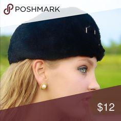 50s Faux Fur Hat Super soft faux fur. Vintage 1950s. Silky Lining. Excellent condition. Accessories Hats