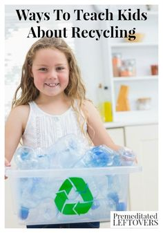 Here are some simple Ways To Teach Kids About Recycling to help you teach your kids how to be responsible for the world around them. Source by AleaMilham Earth Day Activities, Fun Activities For Kids, Teaching Kids, Kids Learning, Recycling For Kids, Recycling Ideas, Recycling Projects For School, Recycling Information, How To Teach Kids