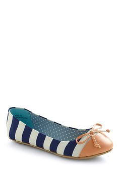 882c50b2a71 Queen of the Cone Flat in Blue and Pink Nautical Flats