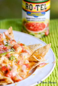 Tijuana Shrimp Dip Nachos are a cheesy, creamy, spicy, and crunchy appetizer…