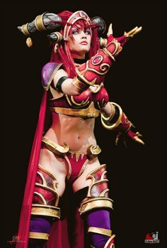 Alexstrasza, Queen of the Dragons. (World of Warcraft). Photo by Mari Dudar Cosplay by Narga (me) This is my second cosplay from WoW and the third from Warcraft universe. Lik...