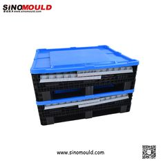 Foldable Pallet Box. Welcome to follow and contact us! Email: sino-mould@hotmail.com. Whatsapp: +86 158-5868-5625.
