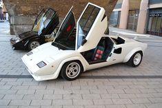 Lamborghini Countach 5000S in White on a Two Tone Interior | eBay