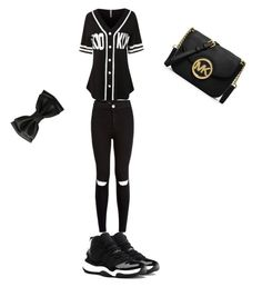 """Baseball outfit"" by cherireese on Polyvore"